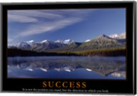 Success - mountains Fine-Art Print
