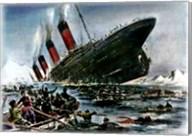 Titanic Sinking Fine-Art Print