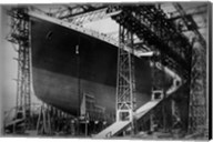 Titanic Constructed at the Harland and Wolff Shipyard in Belfast Before Sail Fine-Art Print