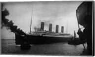 Titanic Leaving Harbor Fine-Art Print