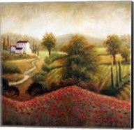 Flourishing Vineyard II Fine-Art Print