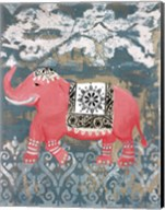Pink Bazaar I Fine-Art Print