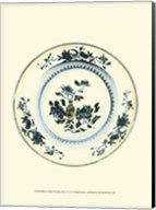 Blue & White Porcelain Plate V Fine-Art Print