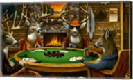 Deer Camp Fine-Art Print
