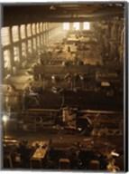 North Western Railway Locomotive Shops, Chicago, Illinois Fine-Art Print