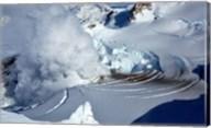 Fumarole on Mount Redoubt, Alaska, USA Fine-Art Print