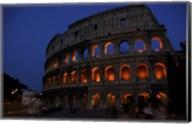 Colosseum at Night Fine-Art Print