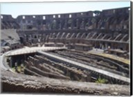 The Colosseum in Rome side view Fine-Art Print