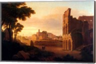 Rome, the Colosseum and the Roman Forum Fine-Art Print