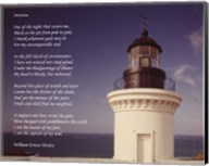 Invictus Poem (lighthouse) Fine-Art Print