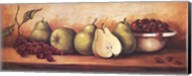 Fruit Panel with Green Pears Fine-Art Print