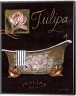 Tulipa Bath - mini Fine-Art Print