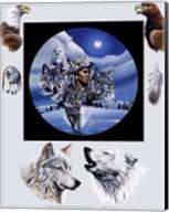 Moonlit Warrior Fine-Art Print