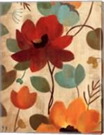 Vibrant Embroidery II Fine-Art Print
