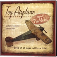 Toy Airplane Fine-Art Print