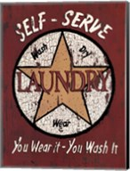 Self Serve Laundry Fine-Art Print