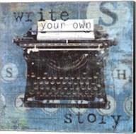 Write Story Fine-Art Print