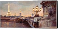 Parisian Evening Crop Fine-Art Print