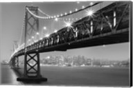Bay Bridge At Night Fine-Art Print