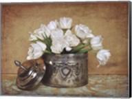 Vintage Tulips II Fine-Art Print