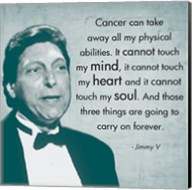 Those Three Things, Jimmy V Fine-Art Print