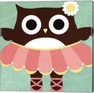 Ballerina Owl Fine-Art Print