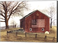 Flag Barn Fine-Art Print