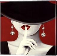 Haute Chapeau Rouge I Fine-Art Print