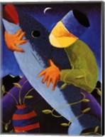Man with Fish Fine-Art Print
