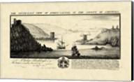 Vintage Fowey Castle Fine-Art Print