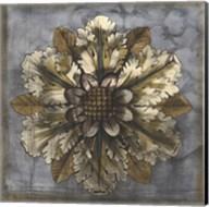 Rosette & Damask I Fine-Art Print