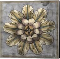 Rosette & Damask II Fine-Art Print