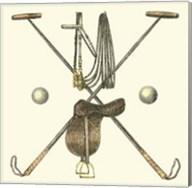 Polo Saddle Fine-Art Print
