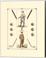 Golfers: John Henry & R. Maxwell Fine-Art Print
