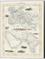 Overland Routes- India & China Fine-Art Print