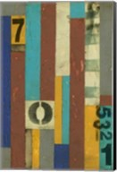 Primary Numbers II Fine-Art Print