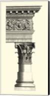 B&W Column & Cornice II Fine-Art Print