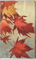 Maple Leaves I - mini Fine-Art Print