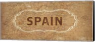 Vintage Sign - Spain Fine-Art Print