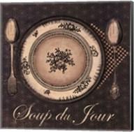 Soup du Jour - mini Fine-Art Print