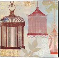 Bird on a Cage II Fine-Art Print