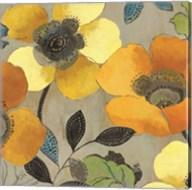 Yellow and Orange Poppies II Fine-Art Print