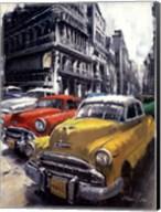 Havana Vintage Classic Cars I Fine-Art Print