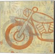 Motorcycle I Fine-Art Print