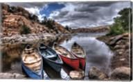 Canoe Break Fine-Art Print