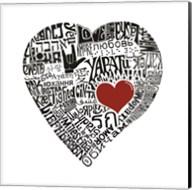 Love in 44 Languages Fine-Art Print