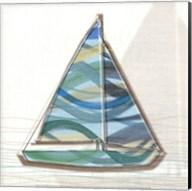Smooth Sailing I Fine-Art Print