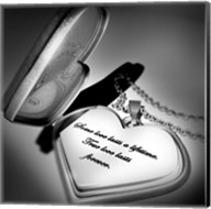 Locket Love Quote Fine-Art Print
