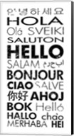 Hello Languages Fine-Art Print