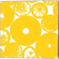 Yellow Lemon Slices Fine-Art Print